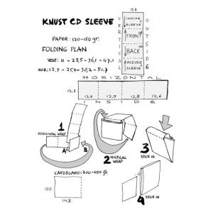 Knust: CD sleeve assembly instructions